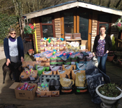Pets at Home pallet donation